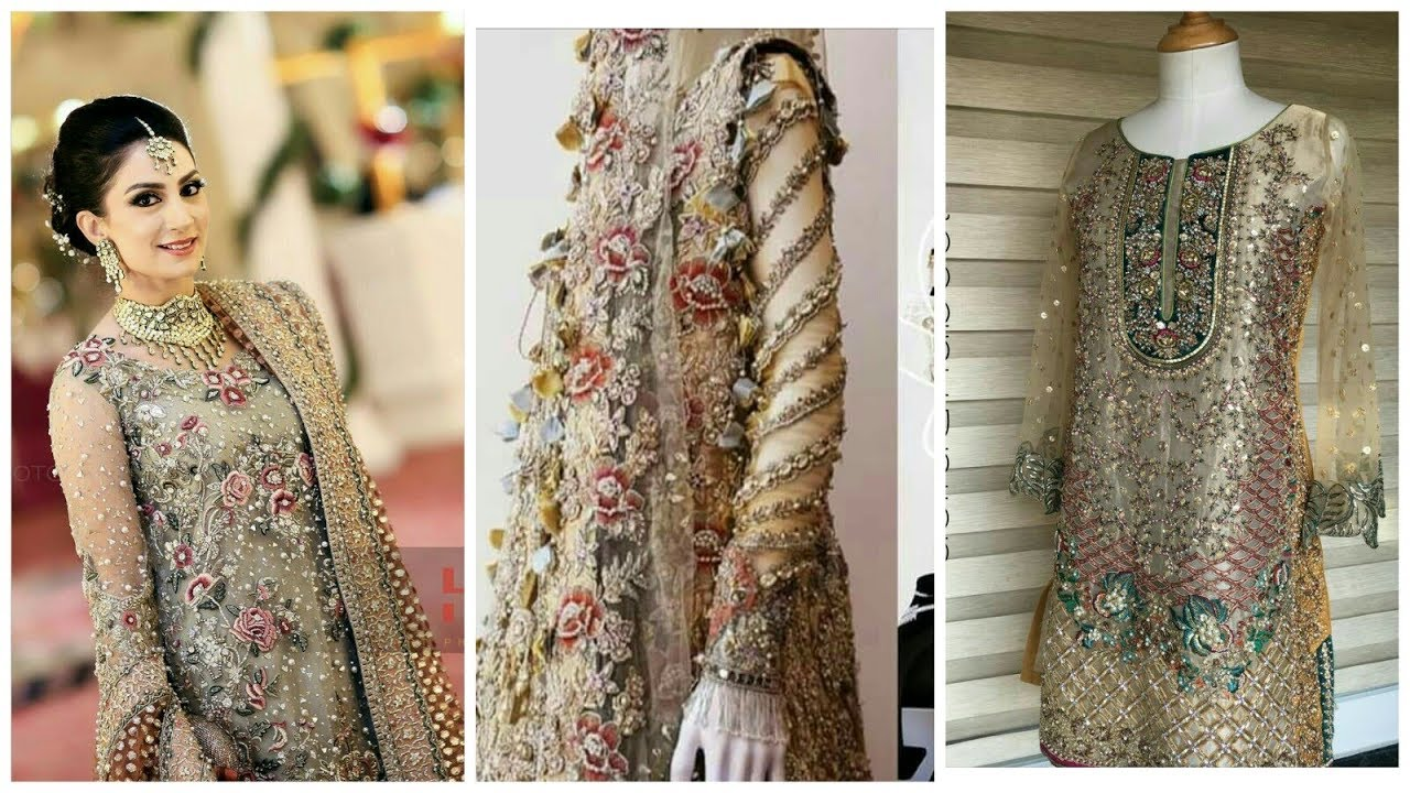 wedding stylish latest dress for girls