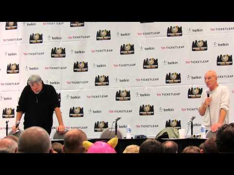 Ohio Comic Con 2012 - Patrick Stewart and John de Lancie Q&A