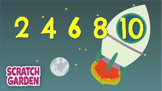 Download The Counting by Twos Song | Counting Songs | Scratch Garden