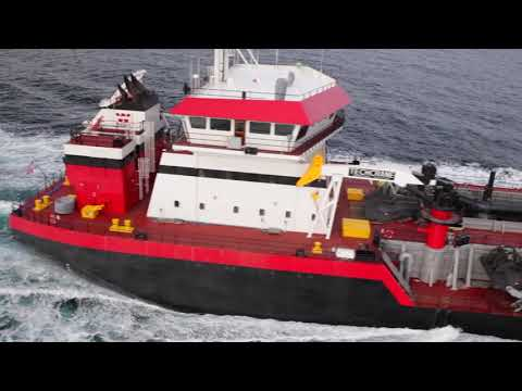 M/V MAGDALEN Launch and Sea Trials