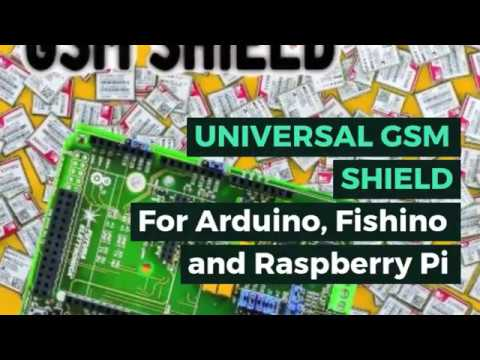 UNIVERSAL GSM SHIELD - The GSM library for Arduino - Open