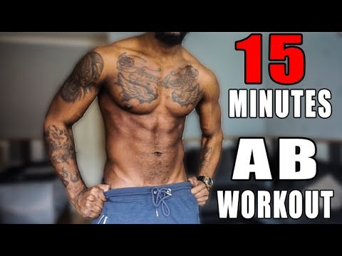 15 Minute Ab Workout For Beginners   Follow Along   LIVE!