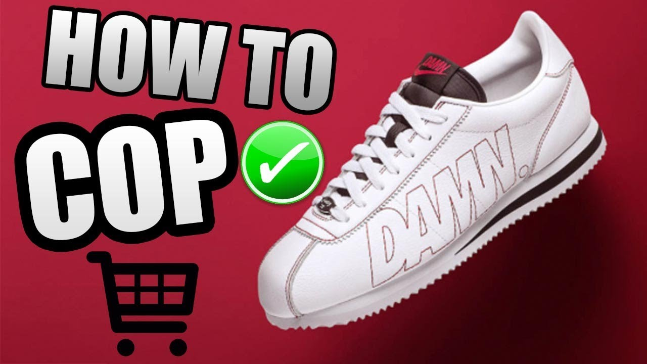separation shoes 0dcb5 b5963 How To Get The CORTEZ KENNY 1 ! | KENDRICK LAMAR NIKE CORTEZ Release Info