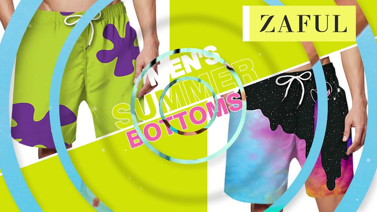 ZAFUL Men's Summer Clothing Online!
