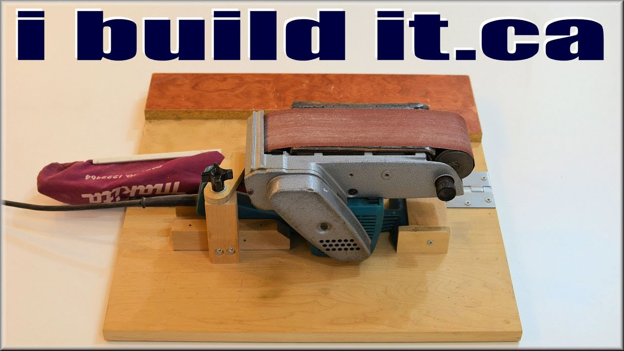 Belt Sander Platform Youtube