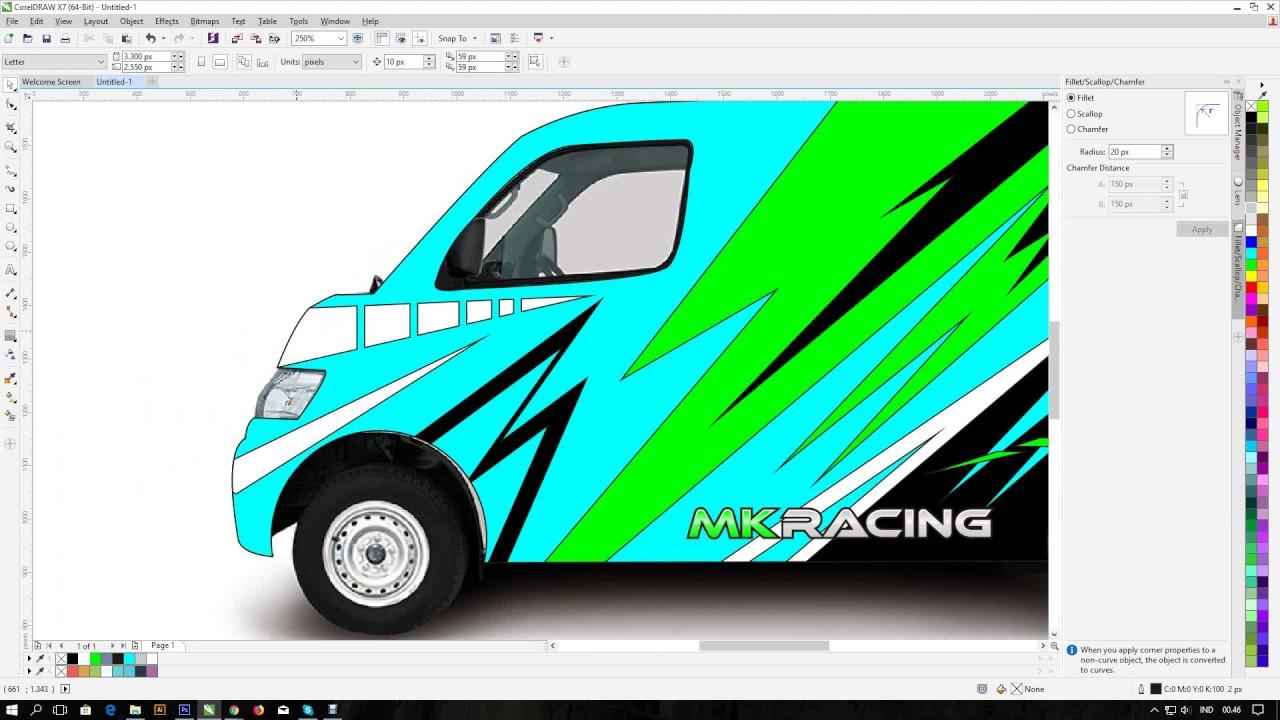 Paling Inspiratif Gambar Sketsa Mobil Grand Max Tea And Lead