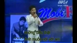 Karaoke Bức thư tình đầu tiên - Tấn Minh