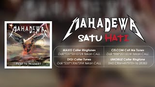 Mahadewa Feat. Judika - Satu Hati [Official Lyrics Video]