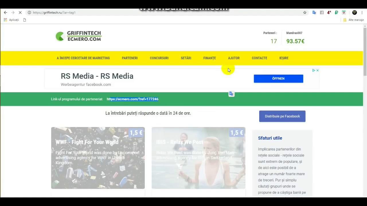 cel mai bun site web pentru a câștiga bani pe internet)