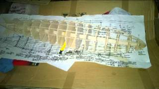 building a model of the R101 airship