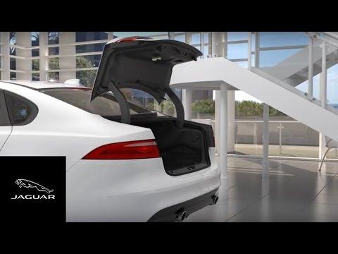 Jaguar XF 2018   Gesture Boot