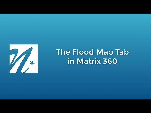 Using The Flood Map Tab
