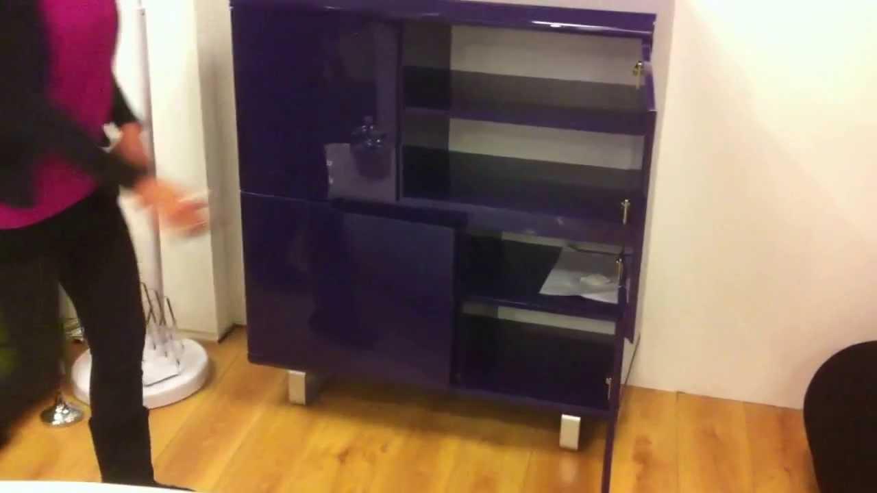 Retro Design Kastje : Retro color paarse kast design youtube