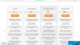 Cómo contratar dominio y hosting con Webempresa