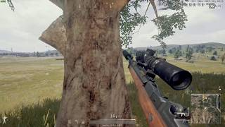 PUBG - How did he see me? (ping affects perspective?)