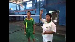 Video Pembelajaran : Teknik Pukulan Lob Pada Bulutangkis.MP4