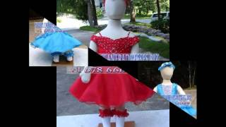 Baby Affordable Flower Girl Pageant Gowns 2012.203