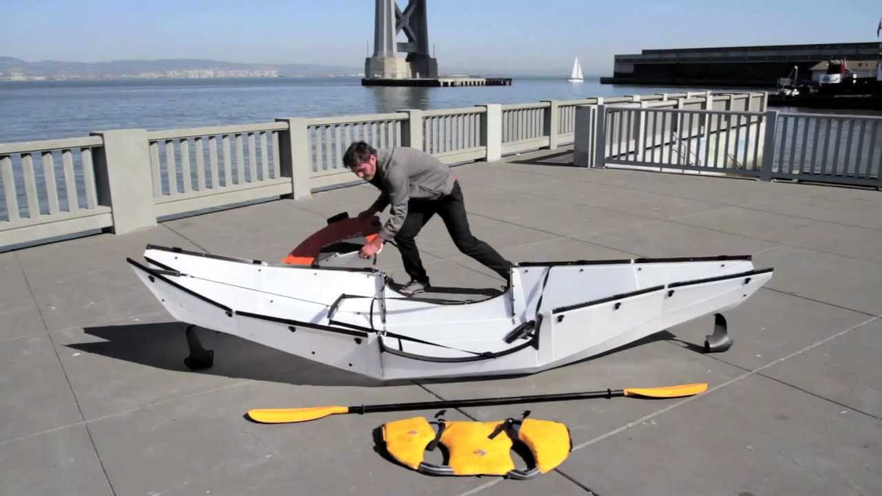 Oru Kayak Assembly