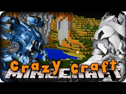 crazy craft little lizard minecraft mods craft 2 0 ep 20 epic robo wars 4166