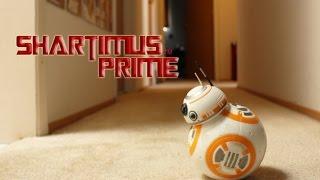 Зоряні Війни Пробудження сили в BB-8 RC пульт дистанційного керування іграшки Хасбро Епізод VII фільм огляд