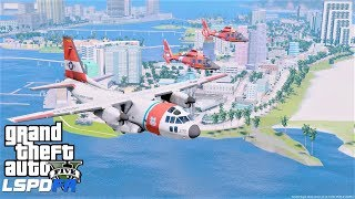 GTA 5 New Vice City Map Mod - Coast Guard Miami