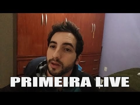 PRIMEIRA LIVE DO CANAL CAIO MORELLI TV