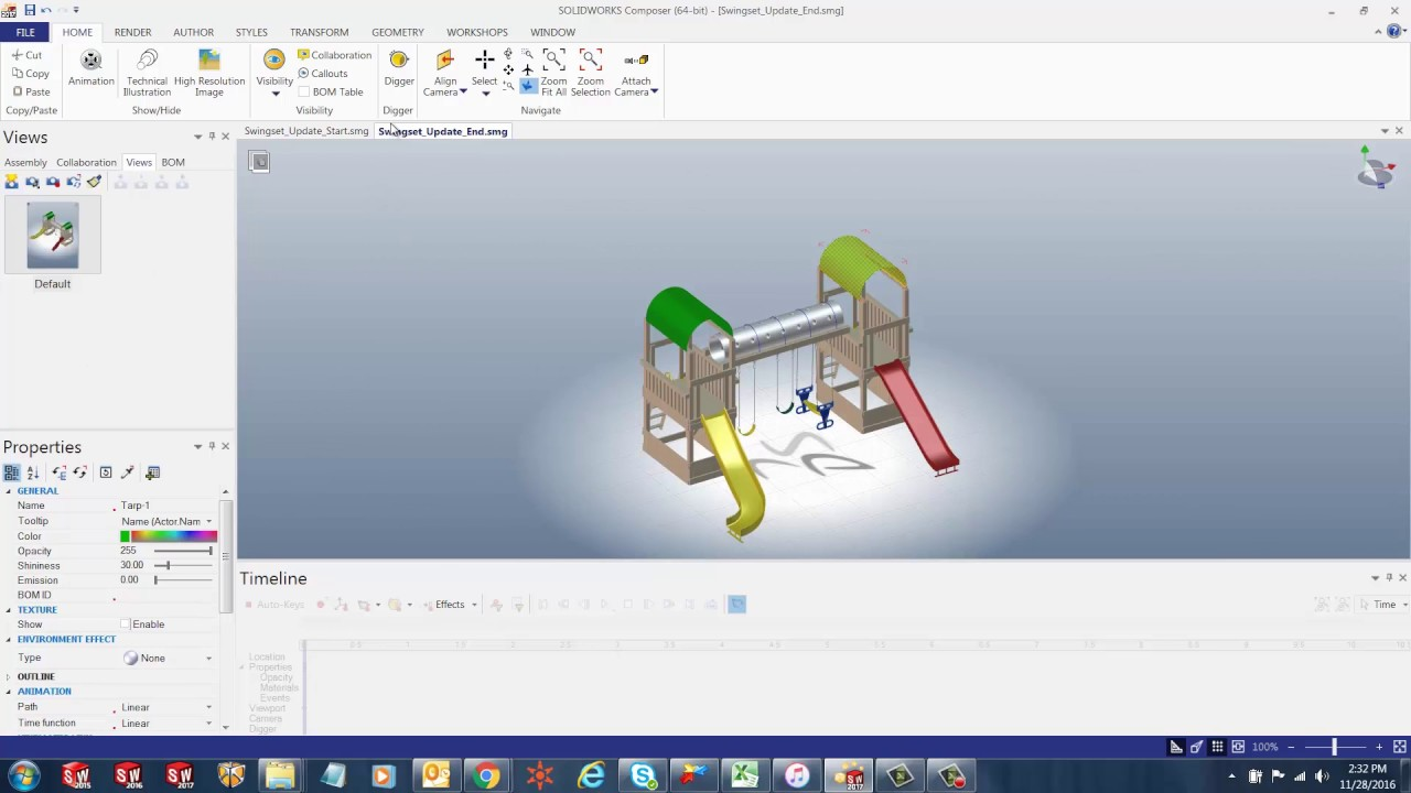 SOLIDWORKS Composer - Updating Files During Design Changes