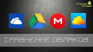 Сравнение облачных хранилищ для Android - OneDrive, Google Drive, Mega, Облако Mail.ru