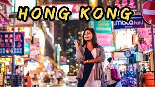 EXPLORING HONG KONG 🇭🇰 Vlog #1: Sightseeing, Trying Street Food, Dragon's Back Hike and More!