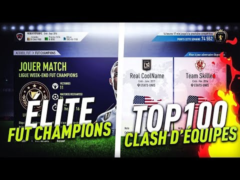 FIFA 18 - ON FINIT FUT CHAMPION ET CLASH EQUIPE + ON OUVRE DES PACKS POUR AVOIR DU PATH TO GLORY !