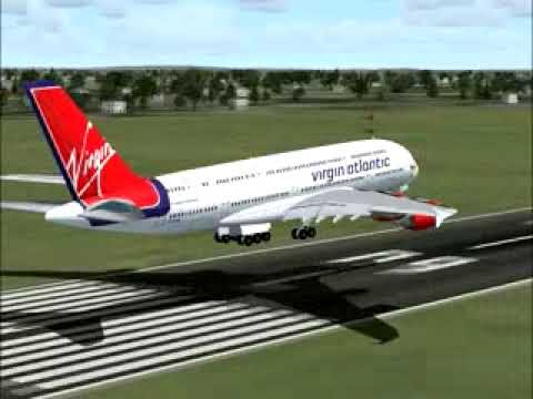 Something is. virgin new aircraft orders all clear