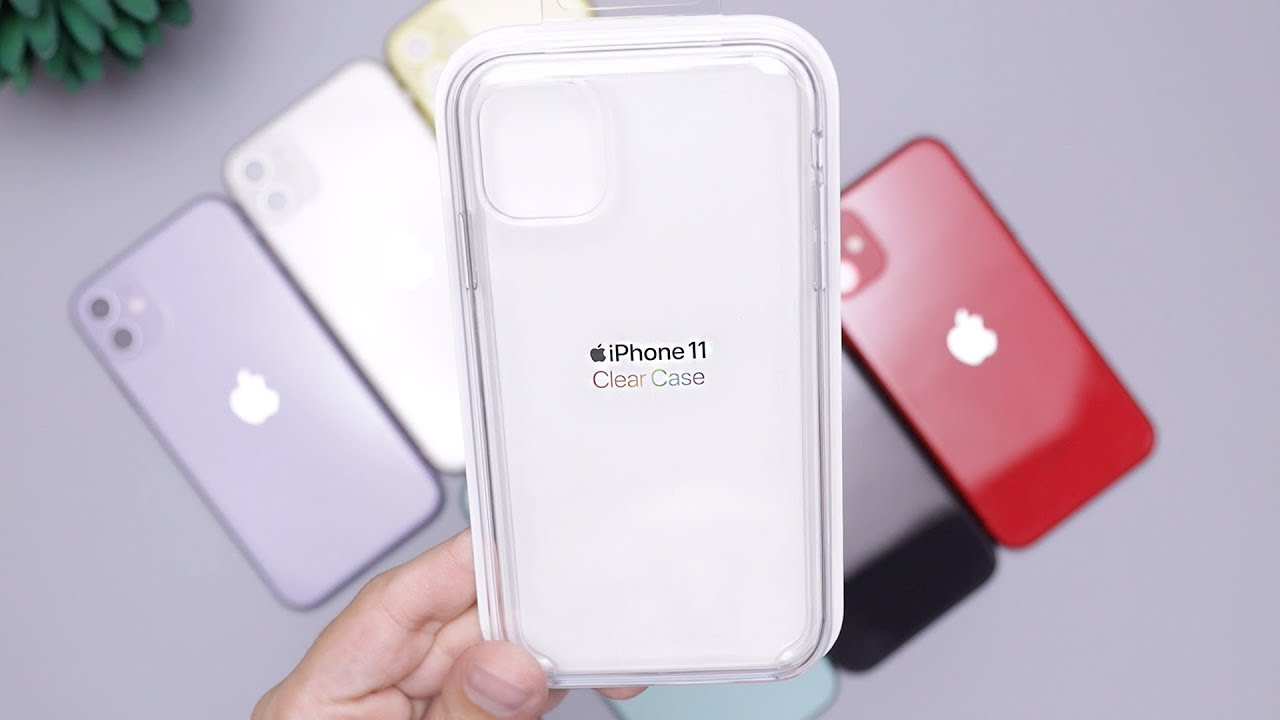 Apple iPhone 11 Clear Case Review on All Colors! Worth It? - YouTube