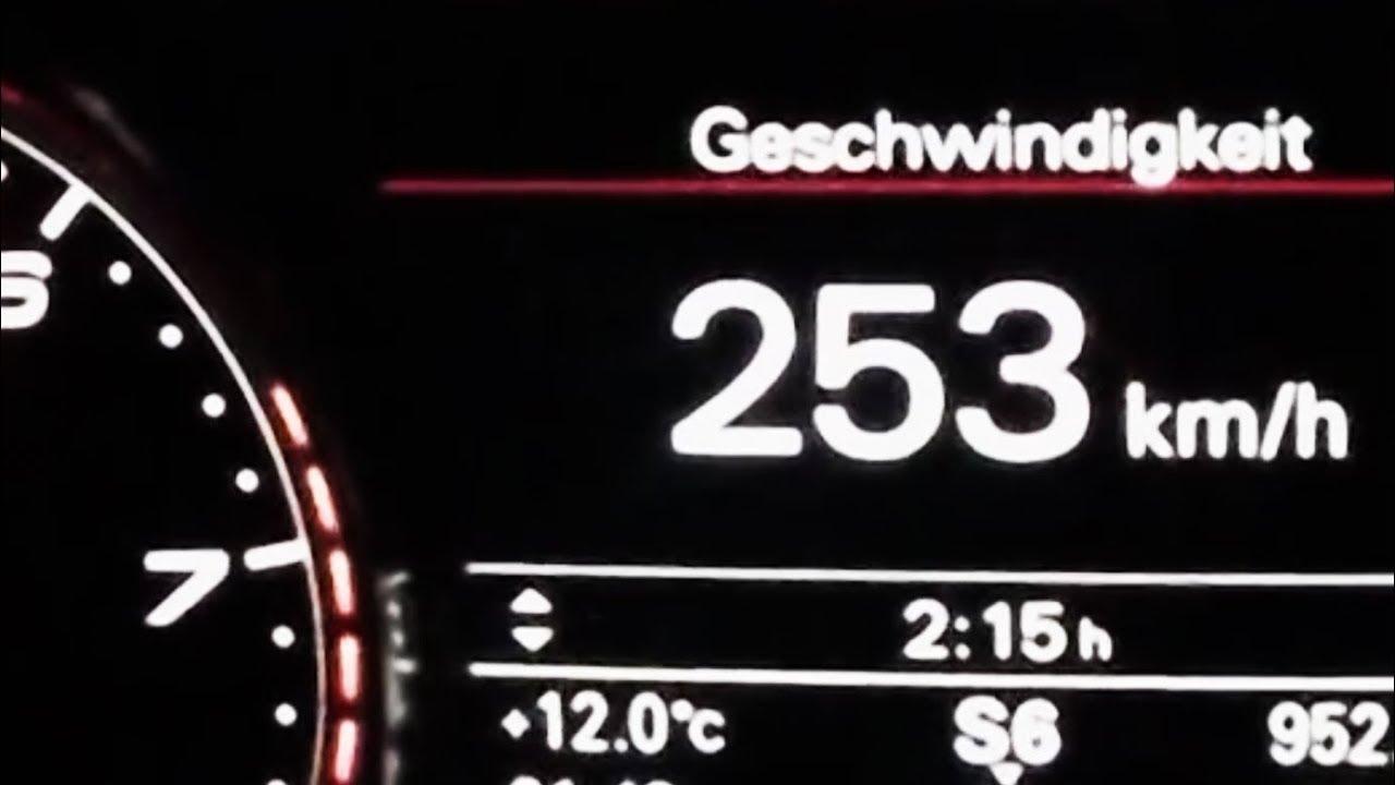 2017 Audi Rs6 Avant 0 100 Kmh Kph 60 Mph Tachovideo Beschleunigung Acceleration