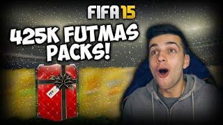 FIFA 15 - 425K FUTMAS PACKS! - FIFA 15 CHRISTMAS PACK OPENING!