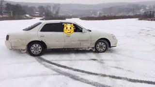 честный обзор Toyota Cresta GX100 после двух лет владения. зимний дрифт (дрист)