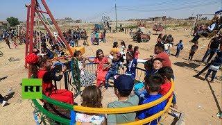 RT ayuda a niños rusos liberados del EI a encontrar familiares