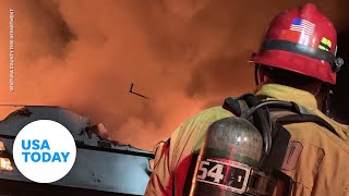 Officials provide updates on Santa Cruz Boat fire | USA TODAY
