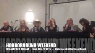 Nightmare on Elm Street Q&A Panel - HorrorHound Weekend - Indianapolis Sept. 11th - 13th 2015