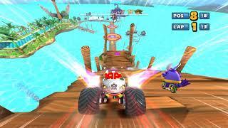 Sonic & Sega all Star Racing Grand Prix Challenge part6 4k
