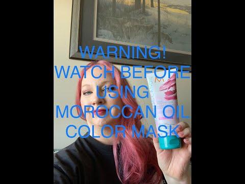 WARNING! Moroccan Oil Color Depositing Mask Update