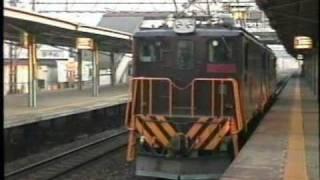 東武鉄道 ED5060電気機関車 せんげん台通過