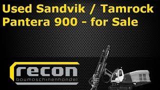 Used Sandvik Tamrock Pantera 900 FOR SALE - Blasthole Rig - Used Rock Drill - Tamrock Pantera