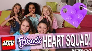 I can't believe it! We're the LEGO Friends Heart Squad! | Rosie McClelland