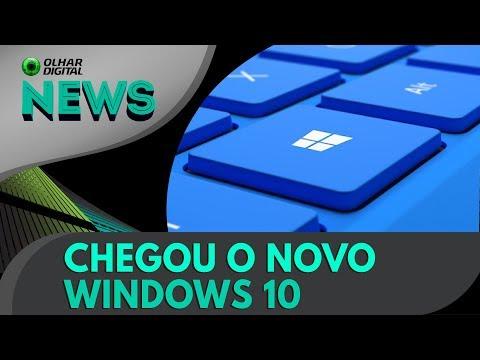 Microsoft lança grande atualização do Windows 10 | OD News 17/10/2017