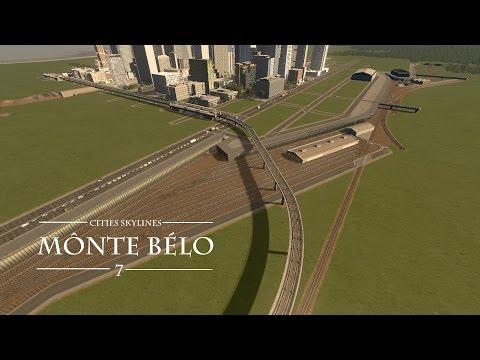 Cities Skylines: Mônte Bélo | Ep. 7 | Trainyard & Metro Depot