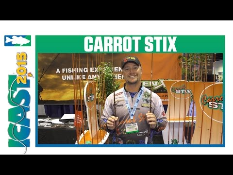 New Carrot Stix GenX Rods With Andrew Young | ICAST 2015