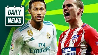 TRANSFER NEWS: Griezmann to leave Atletico Madrid, Bonucci to United + CRAZY Neymar transfer price