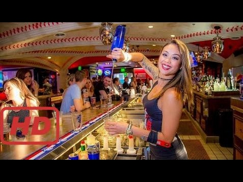 Awesome People Amazing Bartender Skills 2017 Fast Workers God Level Satisfying Video New Compilatio