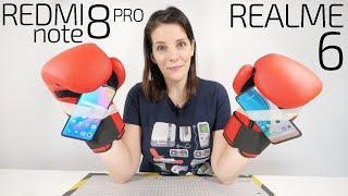 ¿MEJOR MOVIL GAMING BARATO? -Xiaomi Redmi Note 8 PRO vs Realme 6-