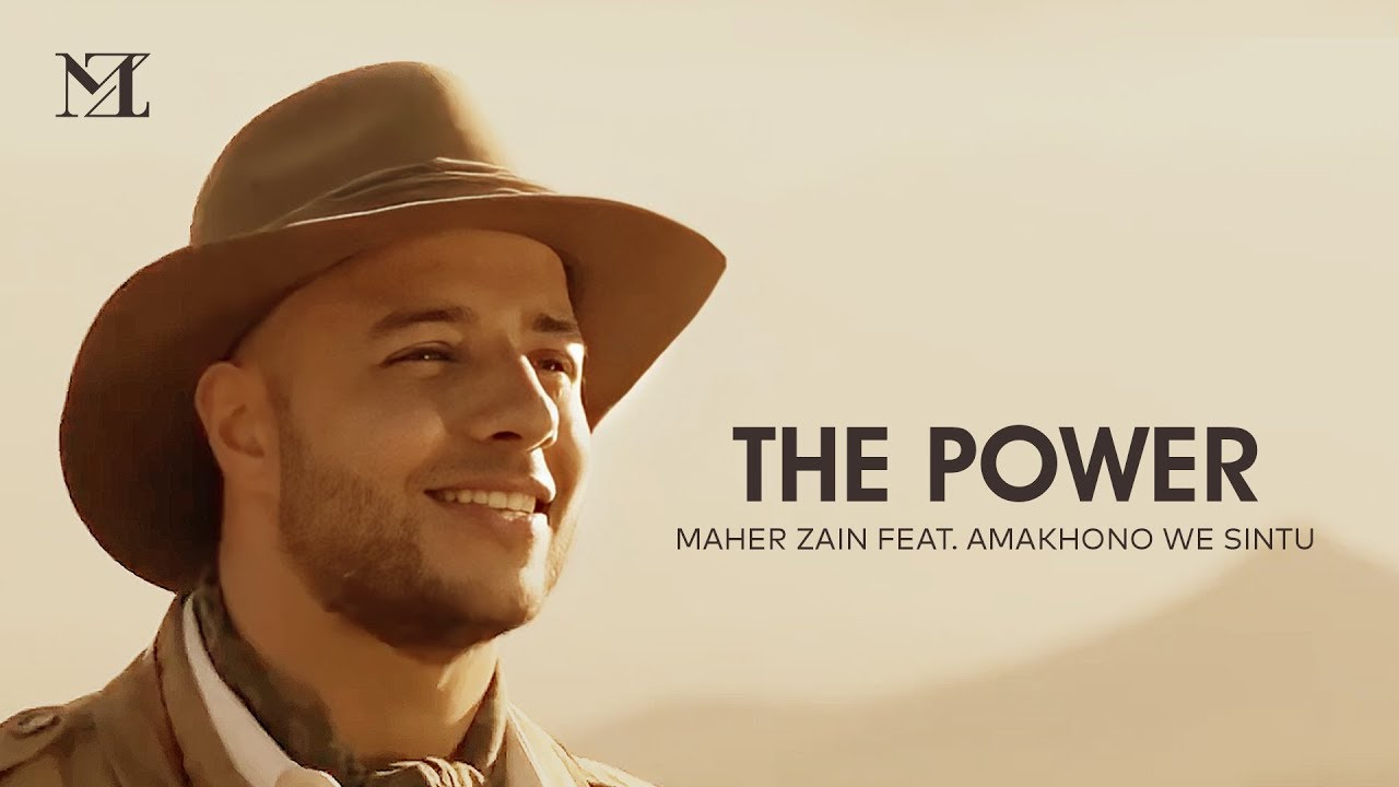 Maher Zain The Power ماهر زين Music Video On Screen Lyrics Youtube